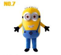 Wholesale 17 styles Despicable me minion mascot costume for adults despicable me mascot costume