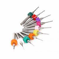 Wholesale 10pcs PCB Print Circuit Board Tungsten Steel Micro Drill Bit Tool Set PCB drill