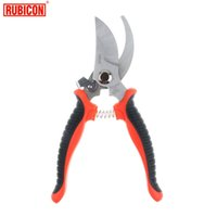Wholesale Japan RUBICON Brand RCZ Gardening shears Olecranon Scissors Non slip Sharp For Flower Arrangement Pruning Branches Leather Carpets