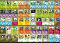 Wholesale 2016 Trading Cards Games Newest Edition XY English Anime Pocket Monsters Cards Toys Children Card Toys