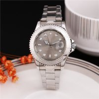 analog table clock - Automatic date steel with movement of the luxury fashion quartz clock and men watch Separate table can rotate The yacht mingshi type role qu