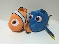 big marlin - Cute Finding Dory Finding Nemo Plush Toys The Clown Fish Nemo Dory Marlin Stuffed Animals Doll Toys Kid Christmas Gift cm inch