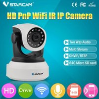 Wholesale VStarcam HD Wireless IP Camera Baby Camera IR Cut Night Vision Audio Recording Network CCTV Onvif Indoor IP