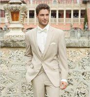 best allure - New Arrival Allure Two Buttons Groom Tuxedo Best Man Groomsman Suit Men Destination Wedding Suits Formal Suit Jacket Pants Vest