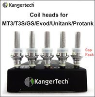 Cheap Kanger Protank Coils Single Coil fit for eVod MT3 T3S GS H2 unitank Atomizers Replacement Coil unit heads 1.5 1.8 2.2 2.5 ohm Free shipping