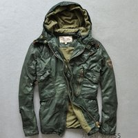army motorcycle for sale - Green flying jackets for sale AVIREXFLY jackets Genuine Leather flight jackets Motorcycle leather jackets