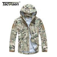 acu equipment - TACVASEN Men Tactical Waterproof jacket Spectre Hardshell breathable military equipment style CP ACU camouflage TD JLHS