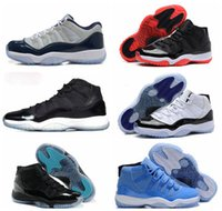 Cheap With Box 1:1 High Quality 11 XI Retro Basketball Shoes Sneakers Air Mens bred concords Gamma Blue Space Jam pantone Georgetown Low