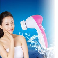 Wholesale 2015 Hot Sales in Multifunction Electric Face Facial Cleansing Brush Spa Skin Care Massage