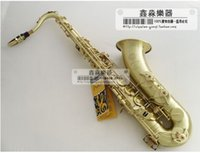 Wholesale France Selmer Bb Tenor Saxophone Instruments Reference Bronze Antique Copper Tenor Sax