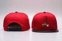 baseball retail - and Retail Mix order Tha alumni Snapbacks hat hip hop caps Adjustable Gold quot A quot logo baseball cap