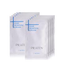 Wholesale 2016 New arival PILATEN Hair Removar Cream Painless Depilatory Cream For Leg Armpit Body g Hair Removal Cream