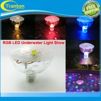 Wholesale New RGB LED Underwater Light Show LED Disco Ball for Swimming Pool Pond Light with Light Patterns
