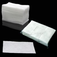 Wholesale 400 Wipes New Clean Paper Cotton Pads Nail Polish Remover Make up Nail Art Tools