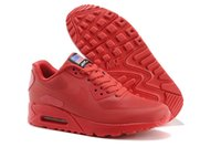 american flag leather - Max HYP PRM QS Men Running Shoes Air max Hyperfuse American Flag Black White Red Navy Blue Gold Silver Pink Sport Trainers