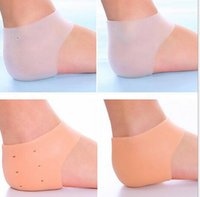 Wholesale Silicone Heel Socks Cracked Foot Skin Care Protector Moisturizing Gel Styles Colors