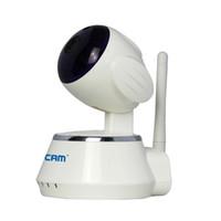 alarm color camera - ESCAM Secure Dog QF510 IP Camera security alarm P Cctv Webcam P2P Wifi control IR LED Night Vision Color White