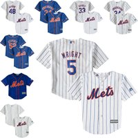 baby york - Cheap youth New York Mets Baby Tim Tebow Cespedes deGrom syndergaard Wright old year Cool Base toddler Jersey stitched S L