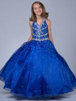 Wholesale The New Dress In Spring Noble Children Dress Cute Flower Girl Princess Skirt Bubble Skirt Manufacturer Direct Selling Hot Selling