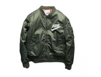 baseball jackets sale - Hot Sales Ma1 Bomber Jacket Men New Japanese Bomber Jacket KANYE WEST for Pilot Flight Jacket Bombers Men Baseball Coats Military