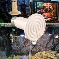 Cheap Wholesale-Pet Light Infrared Ceramic Winter Heat Lamp Bulb For Reptile Amphibian Brooder 100W New High Quality