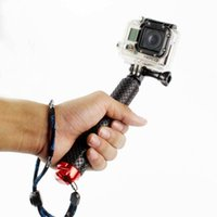 Wholesale Waterproof Monopod Tripod Selfie Stick Pole Handheld for Gopro Hero Camera Free Drop shipping