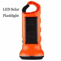 Wholesale Excelvan Solar Power Flashlight Torch Emergency Light For Outdoor Camping Hiking Light high quality solar lamp for outdoor lt no tracking