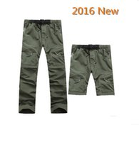 Wholesale New Hiking Brand Outdoor Hiking Quick Dry Pants Men Wearproof Quick Dry Good For Camping Rock Climbing Hot Selling