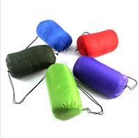 Wholesale Thickening Winter Warm Outdoor Camping Sleeping Bag Splicing Envelope Waterproof Traveling Hiking Camping Single Sleeping Bags