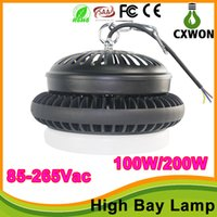 Wholesale AC85 V UFO LED High bay light IP44 w w w w led headlamp pf gt smd year warranty led head lamps