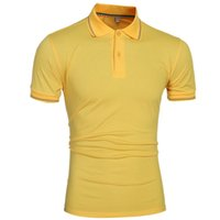 Wholesale Pure color golf shirt sport wear dry fit polo shirt men custom LOGO can be added