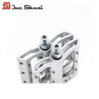 bicycle peg - A Pair inch Bike Pedal Bicycle Cleat Peg Shoe Slip Resistant Ultralight Flat Pedal Bearing Bolt Trike Aluminium Speed Gear