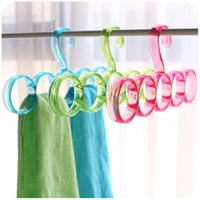 aluminum shirt - Plastic Wall Hanging Clothes Hanger Aluminum Baby Plastic Hangers Children Drying Rack Outdoor Clothing Hanger Child