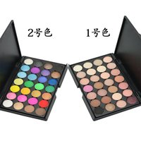 Wholesale professional color eye shadow makeup shirmmer matte natural for trade brighten send