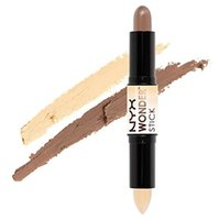 Wholesale 2016 New Arrivals Wonder stick highlights and contours shade stick Light Medium Deep Universal NYX concealer