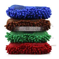 Wholesale Hot New Ultrafine Fiber Sponge Chenille Anthozoan Car Wash Gloves Car Wash Supplies Multi function General