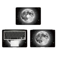 Wholesale Cool Black Earth Planet Vinyl Full Body Cover Laptop Decal Skins For Apple Macbook inch Protective Stickers