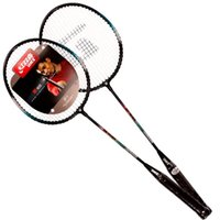 Wholesale A Aluminum Alloy steel racket old and new packaging random hair