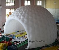 Wholesale new design m diameter inflatable tent camping tent sun shelter for people