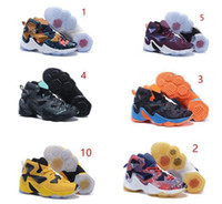 athletic rubber bands - High Quality basketball shoes Hot sale Lebron XIII Basketball boots men lbj Athletic sneakers Shoes