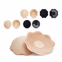 Wholesale pair Sexy Women Breast Pads Silicone Bra Gel invisible Bra inserts Push Up Bra Insert Breast Bra Extender Nipple Cover Enhancer