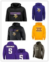 active practice - Vikings Practice Performance Pullover Hoodie Olive Salute Service KO Performance Green football jersey