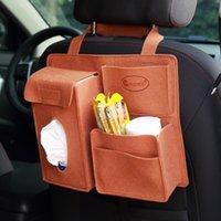 Wholesale Wool felt vehicle mounted tissue box Customizable logo Creative products