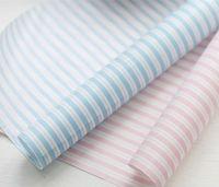 baking hamburgers - 100 Stripe Sandwich Wrapping Paper Greaseproof Wax Coating Baking Food Hamburger Soap Packaging BE51