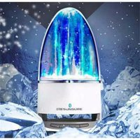 LED USB baile agua altavoz Bluetooth Hansfree inalámbrico Soundar Fountain espectáculo música luz altavoces para Samsung iPhone portátil