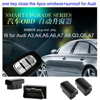 Wholesale Newest OBD window roll up closer module original cars Canbus OBD for Audi A4 A5 A6 A7 A8 Q3 Q5 S6 S7