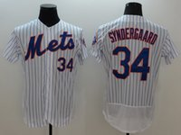 Wholesale Men s New York Mets Noah Syndergaard Majestic White Flexbase Authentic Collection Player Jersey High Quality Baseball Shirts Jerseys