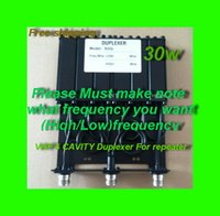 Wholesale VHF UHF W CAVITY DUPLEXER for radio repeater N connector SGQ