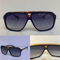 retro style sunglasses - luxury millionaire evidence sunglasses retro vintage men brand designer sunglasses shiny gold summer style laser logo gold plated
