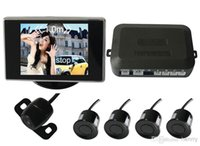 Wholesale PZ602 B Rearview system Alarm by three step Bibi sound rearview car parking system